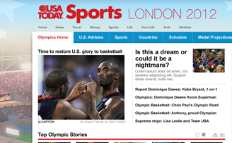 USA TODAY Sports Olympics